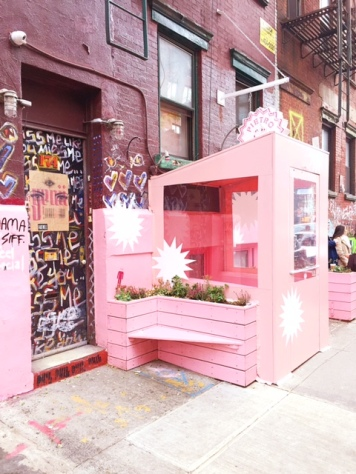 Pink in NYC: Pietro Nolita